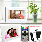 "7""inch HD 16:9 Digital Photo Frame Album Picture MP4 Movie Player Remote Control"