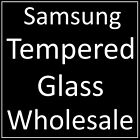 BULK WHOLESALE JOBLOT TEMPERED GLASS SCREEN PROTECTORS FOR ALL SAMSUNG DEVICES