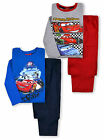 Boys Cars PJ Set New Kids Disney Pixar Lightning McQueen Pyjamas Ages 3-8 Years