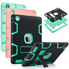 Hybrid Rugged Shockproof Shell Cover Kickstand Armor Case for New iPad 2 3 4