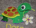 Embroidered Turtle Towels~ Tortoise Towel~ Hand & Bath Towels~ Personalized