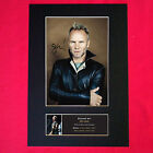 STING Quality REPRODUCTION Autograph Mounted Signed Photo PRINT A4 72
