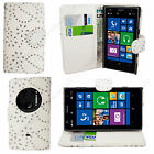 Luxury Flip Leather Wallet Stand Case Cover For Nokia/Microsoft Lumia Phones