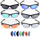Polarized Replacement Lenses for-Oakley Fast Jacket Sunglasses - Option Colors
