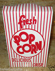 Closed-Top POPCORN BOXES for Snacks/Parties/Treats/Favors/Gifts/Movie Night==MED