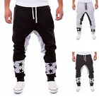 Men Casual Sweatpants Baggy Harem Slacks Trousers Jogger Dance Sportwear hip-hop