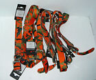 "Lot Zack & Zoey Camo Print Dog Collar  1"" 18-22 Orange Green"