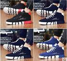New Fashion Men's Shoes High Top Sneakers Casual Sport Breathable canvas Running