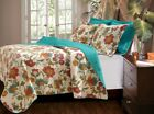 3-Piece Clearwater Multi Color Queen Quilt Set