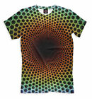 All Over print lsd shirt colorful psychedelic tee goa EDM pattern