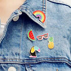 Acrylic Lovely Collar Pin Badge Corsage Cartoon Expression Brooch Jewellery