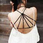 HOT Sexy Backless Womens Crop Tops Strap Blouse Vest Cut Out Shirt Beach Tank AU