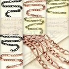 6.56 feet 2m/pcs Unfinished Chain Curb Chain Necklace Pendant Jewelry Finding