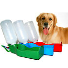 250ml/500ml Collapsible Pet Dog Cat Travel Water Bottle Outdoor Fountain Feeder