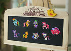 20pcs My Little Pony PVC Fridge Magnets,Magnetic Stickers,School Supplies gifts