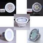 New 5x1W LED Cabinet Recessed Spotlight 5W Ceiling Down Light White + Driver kit