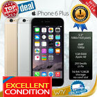 "As New iPhone 6 PLUS 5.5"" 5s Unlocked SPACE GRAY SILVER GOLD 16GB 64GB 128GB"