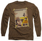 Long Sleeve: Elvis Presley - Charro Apparel Longsleeve Shirt - Coffee