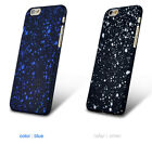 Case CoverFor iPhone 7 7Plus fashion 3D Bling Frosted Starry Sky Hard Back Skin