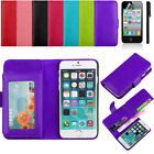 """New PU Leather Credit card Flip Pouch Wallet Case Cover  For iPhone 6  4.7""""  e4"""