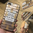 Ultra Thin Transparent Pine Cute Pattern Soft Phone Case For Iphone 7 6 6s Plus