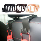 4X Car Seat Headrest Coat Hook Purse Bag Hanging Hanger Organizer Holder LAM