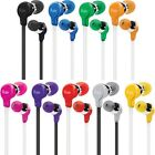 iLuv IEP314 Ergonomic and Comfort OnEarphone w/ Flat-wire available in 7 colors.