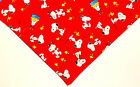Red Snoopy dog bandana, red bandana, Peanuts, Woodstock,