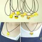 Fashion Charms Necklace EMOJI Emoticons Pendant String Chain For Women GirlsLACA