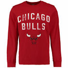 "Chicago Bulls NBA Long Sleeve Mens Shirt Red Fade Out Hands High  ""BLOWOUT SALE"" on eBay"