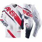 NEW ANSWER RACING A17 SYNCRON WHITE RED ADULT RACE GEAR COMBO JERSEY PANTS MX