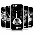HEAD CASE DESIGNS BIG FACE ILLUSTRATED 2 SOFT GEL CASE FOR HUAWEI ASCEND G7