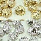 Conch Metal Beads Pendants Gold Silver beads for Jewelry Making Supplies #250