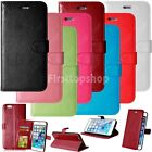 Luxury Phone Case Flip PU Leather Cover Card Wallet Stand For iPhone Sony Lenovo