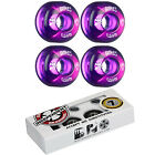 BONES Skateboard Wheels SPF CLEARS Purple with INDEPENDENT ABEC 7 Bearings