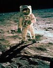 1969 NASA Apollo 11 Moon Landing Aldrin Armstrong Walk Hasselblad Photo Print