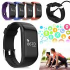 R1 Bluetooth Smart Wrist Watch Heart Rate Sports Bracelet For Android & iPhone