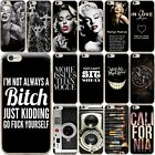 Black Back Skin Soft TPU Silicone Phone Case Cover For iPhone 5S SE 6 6S 7 Plus