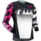 Fox Racing 180 Kids Youth Girls Jersey MX Motocross OffRoad Pink Black