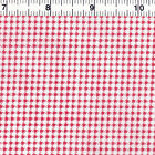 "POLYESTER COTTON BLEND CLOTHES DOLL DRESS FABRIC MINI MICRO 1mm HOUNDSTOOTH 44""W"