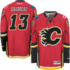 Johnny Gaudreau Calgary Flames Reebok Home Premier Player Jersey Red NHL