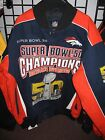 Denver Broncos 2 Time Commemorative Champion Jacket - Free Shipping - New