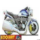 Koolart Cartoon Suzuki GSX 1400 Blue / White - Mens Gifts (1479)