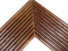 "3 1/8"" Wide Brown Bahama Bamboo Picture Frame-Custom Standard Size"