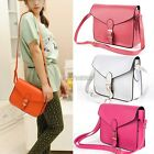 Girls Leather Satchel Clutch Purse Women Shoulder Envelope Bag Messenger Handbag