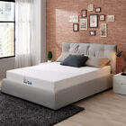 "LazyCat 8""egg-crate foam High-density High Softness Memory Foam Mattress 3 lays"