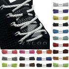 1 Pair 3M Reflective Rope Shoelaces for Basketball Training Sports 120cm Trendy