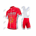 COMPLETO NALINI TEAM COFIDIS 2016 ESTIVO SUMMER SET KIT JERSEY BIBSHORTS