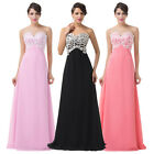30%OFF Women Formal Long Maxi Bridesmaid Ball Gown Evening Cocktail Prom Dresses
