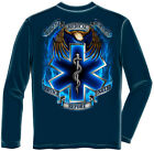 Erazor Bits Apparel Long Sleeve T-Shirt Hero's EMS EMT Navy